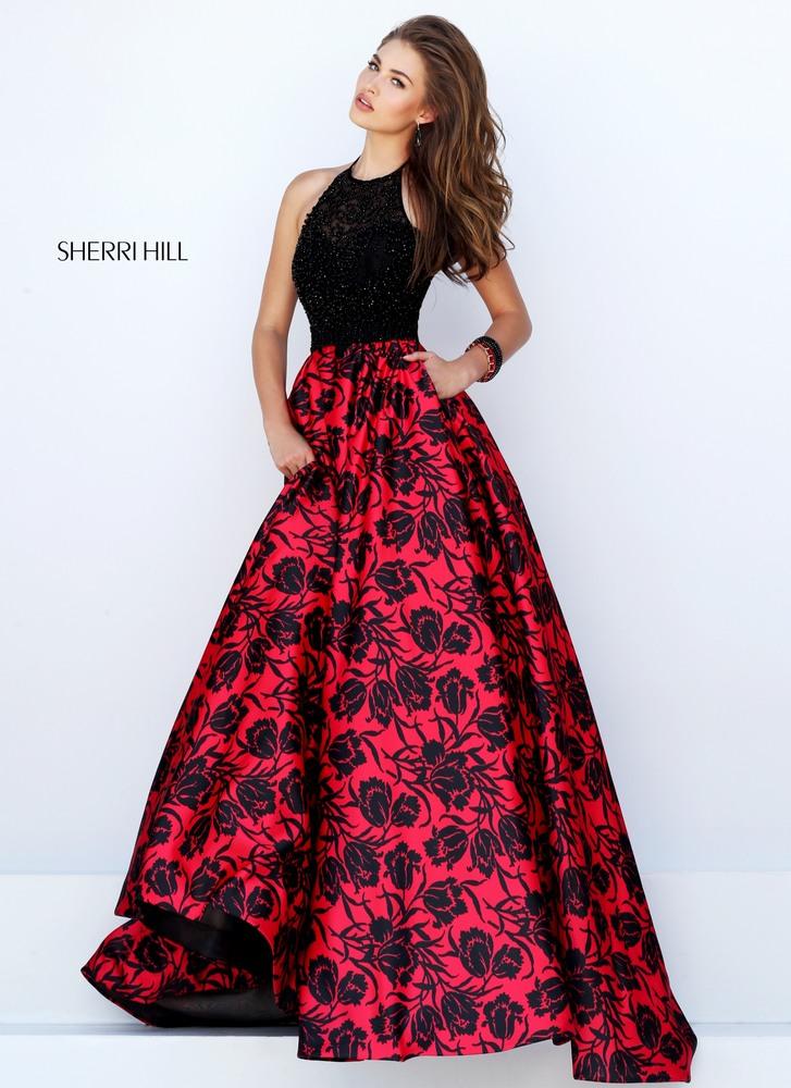 Sherri hill red dress style 2961
