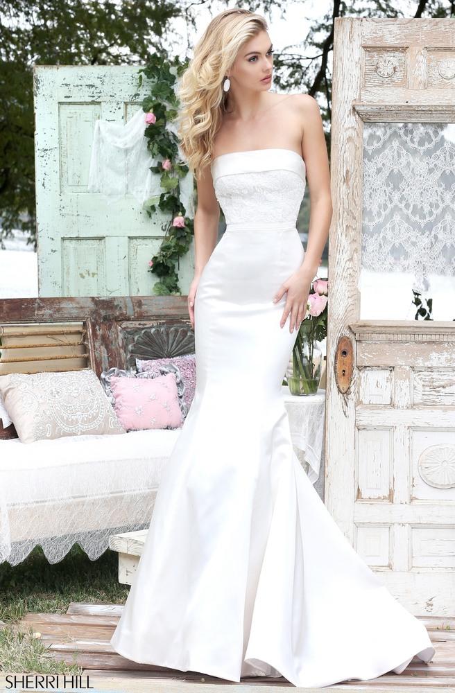 Wedding dress sherri hill wedding ideas for Sherri hill wedding dresses