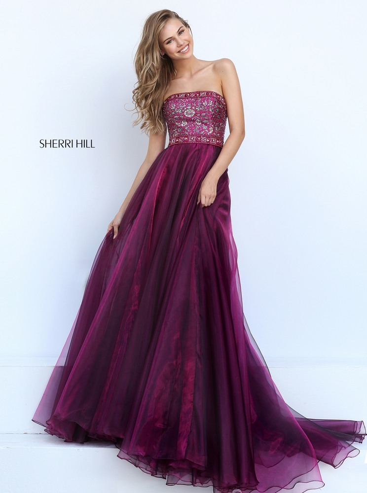 Periwinkle Sherri Hill Prom Dress 2018