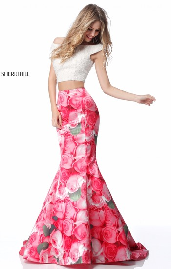Sherri Hill Short Prom Dress 2018
