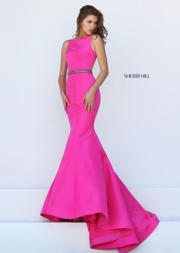 Hot Pink Sherri Hill Dress