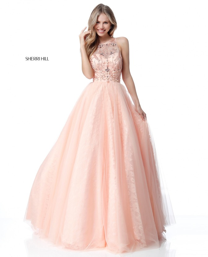 Pink Wedding Dresses Near Me: SHERRI HILL